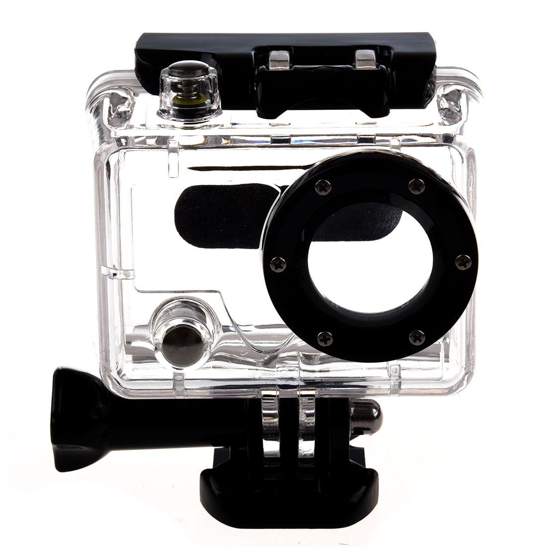 Plongée étanche Cas De Logement Squelette Avec Objectif Pour Gopro Hero 2 Caméra