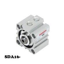 цена на SDA16 Direct sales of high quality pneumatic components thin cylinder SDA series