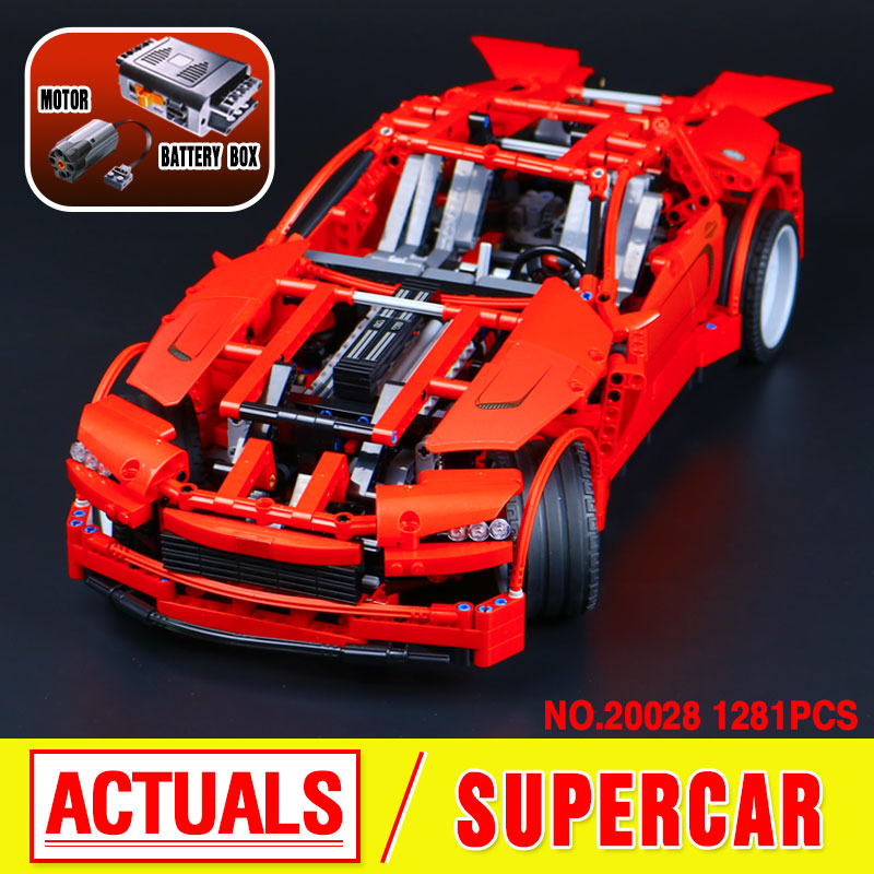 LEPIN 20028 Technic series Super Carcar-styling model building kits Blocks Bricks toys for children gifts compatible 8070 lepin 22001 pirates series the imperial war ship model building kits blocks bricks toys gifts for kids 1717pcs compatible 10210