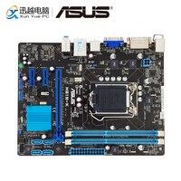 Asus H61M K سطح اللوحة H61 المقبس LGA 1155 ل النواة i3 i5 i7 DDR3 16G SATA2 USB2.0 مايكرو ATX الأصلية المستخدمة اللوحة-في اللوحات الأم من الكمبيوتر والمكتب على