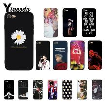 Yinuoda G dragon peaceminusone Cover Black Soft Shell Phone Case for iPhone 8 7 6 6S 6Plus X XS MAX 5 5S SE XR 10 Cover yinuoda g dragon peaceminusone pattern tpu soft phone cell phone case for apple iphone 8 7 6 6s plus x xs max 5 5s se xr cover
