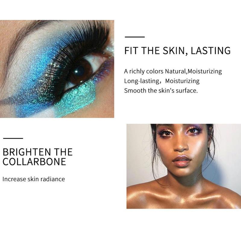 Beauty Essentials Just Metallic Jelly Eyeshadow Gel Makeup Ultra Shining Eye Face Brighten Colorful Blue Gold Silver Pigments Eyes Shadow 25 Color Reasonable Price