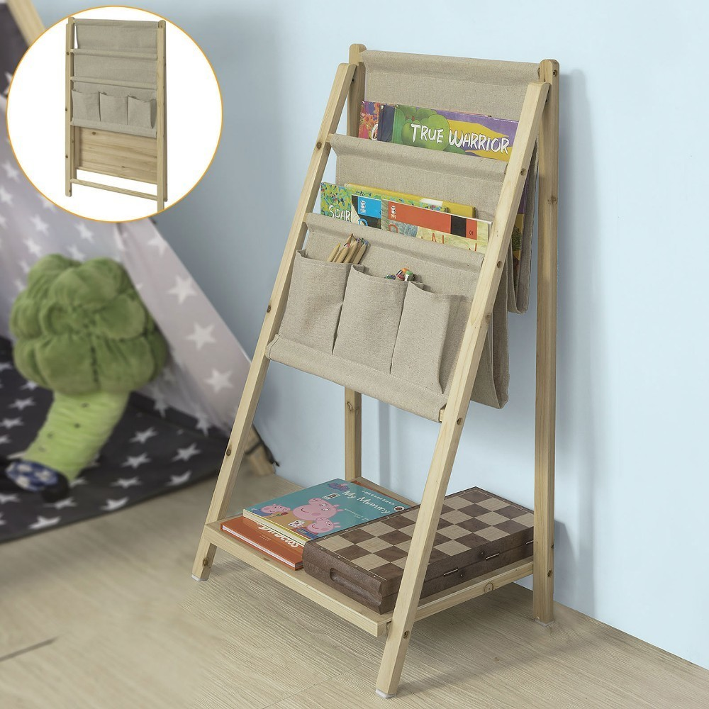 SoBuy FRG276-N, Foldable Bookshelf Magazine Rack Newspaper Holder Storage Display ShelvingSoBuy FRG276-N, Foldable Bookshelf Magazine Rack Newspaper Holder Storage Display Shelving