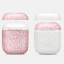 New Stylish Candy Color Silicone Bluetooth Earphone Case for Airpods Protective Cover Case for Apple Airpods Charging Box Bag stylish protective silicone case for 2ds red