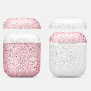 Image 1 - Nowy stylowy kolor cukierki silikonowy futerał na słuchawki Bluetooth dla Airpods pokrowiec ochronny do torby do ładowania Apple Airpods