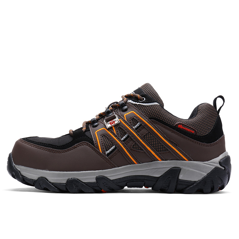 Modyf Men Steel Toe Safety Work Shoes Breathable Hiking sneaker - Men's Shoes - Photo 5