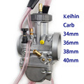 Envío de la buena potencia 34 36 38 40mm pwk carburador keihin carburador de motocicleta universal scooter usados utv atv ktm moto