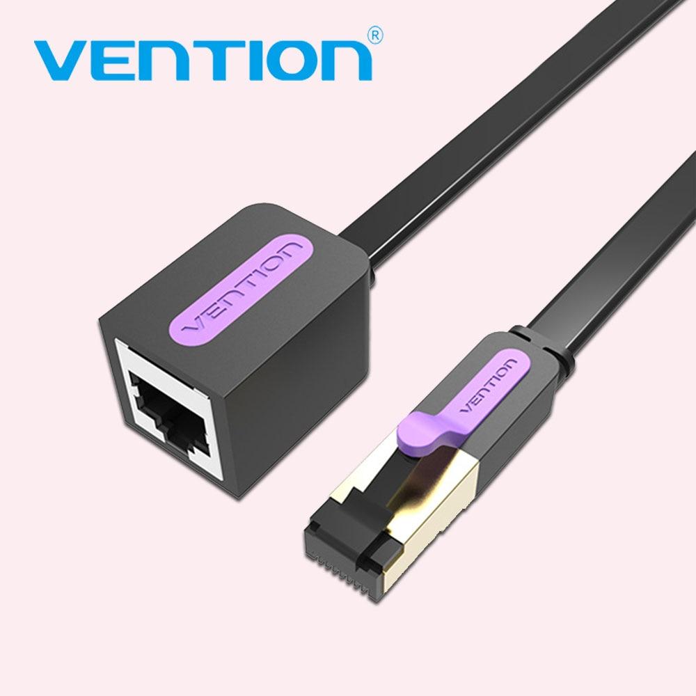 Câble Ethernet Vention RJ45 Cat 7 câble dextension mâle à femelle Lan câble dextension réseau 1m 2m 3m 5m 8 10m cordon pour ordinateur portable