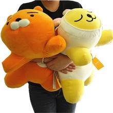 new style Korean Kakao Friends Plush toys super soft pillow Kawaii Cartoon Figure Toys Ryan Cute Cocoa Kids Children girl Gift