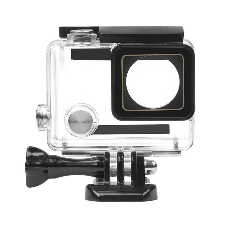Waterproof Camera Housing Case Underwater Protector Case Cover Housing Shell with Base Camera Accessories for GoPro Hero 3+/4