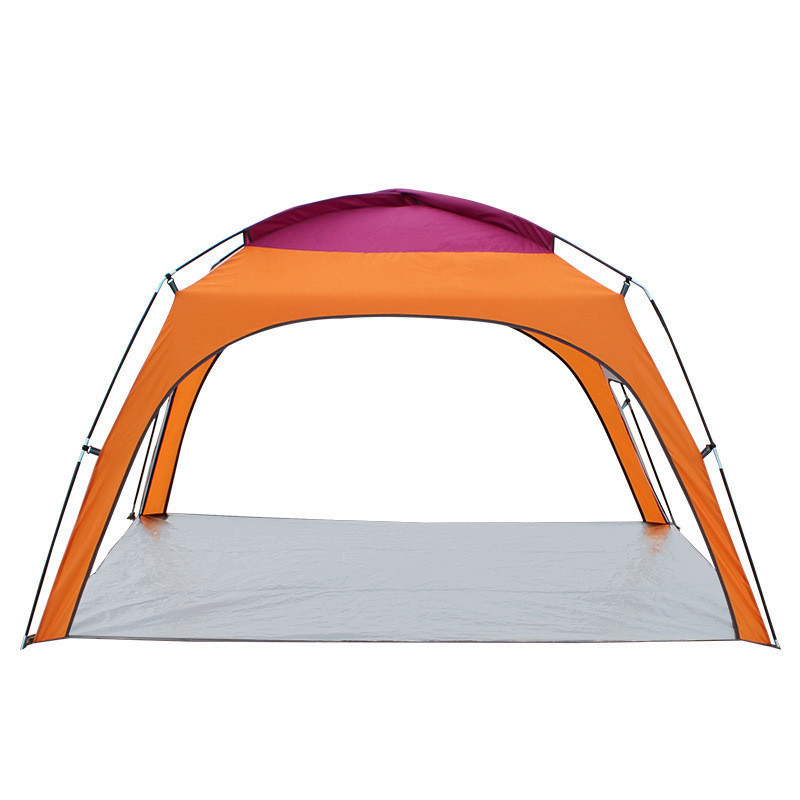 3 Person Outdoor Tent Fishing Beach Tipi Awning Barraca Single Layer Ultralight Tente Acampamento Toldo Portable Tienda De Plage high quality outdoor 2 person camping tent double layer aluminum rod ultralight tent with snow skirt oneroad windsnow 2 plus