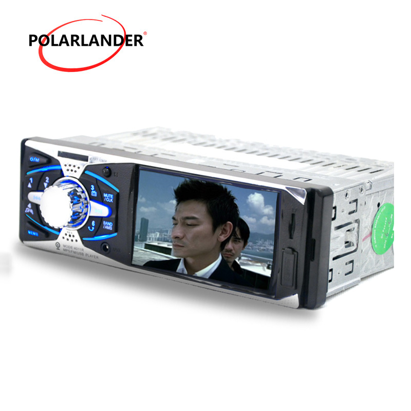 4.0 inch TFT HD screen car radio USB SD aux in 1080P video 1 din car audio stereo mp5 player support rear view camera