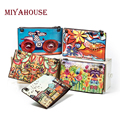 Miyahouse Casual Cartoon Print Women Clutch Bag High Quality Leather Crossbody Bag Ladies Colorful Small Shoulder Flap Bag Girls