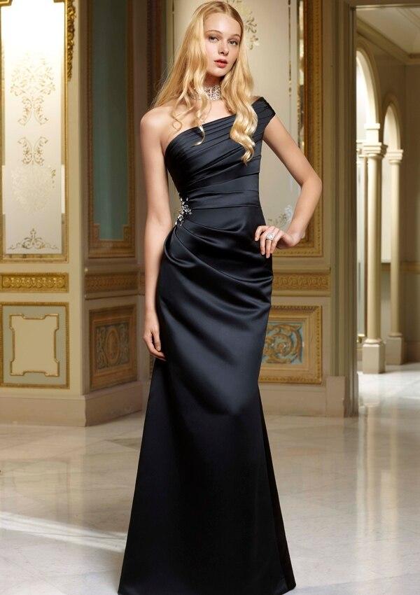 Black Bridesmaid Gowns Promotion-Shop for Promotional Black ...