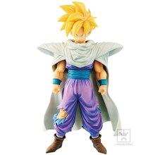 Tronzo Original Banpresto Action Figure Dragon Ball Z Grandista ROS Gohan PVC Action Figure Model Toys DBZ Gohan SSJ Figurines