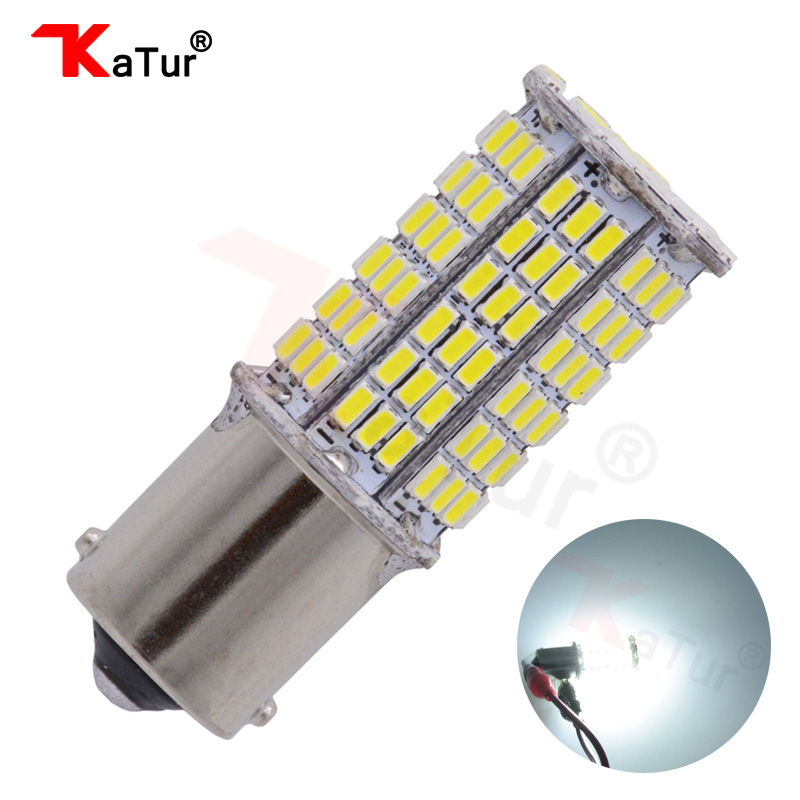 1pcs Super White 1156 BA15S 1141 1003 7506 3014 114SMD LED Bulb CanBus Erro Free Turn Signal Back Up Reverse Brake Tail Light magnat quantum 1003 s white