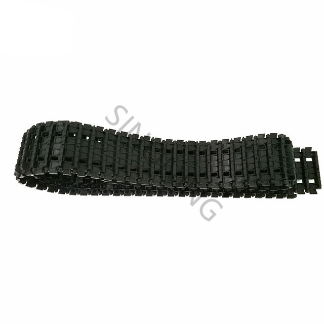 US $8 01 10% OFF Tracks Plastic Caterpillar Crawler Chain Conveyor Belt for  Robot Tank Chassis Engineering Plastic Tracks-in Parts & Accessories from