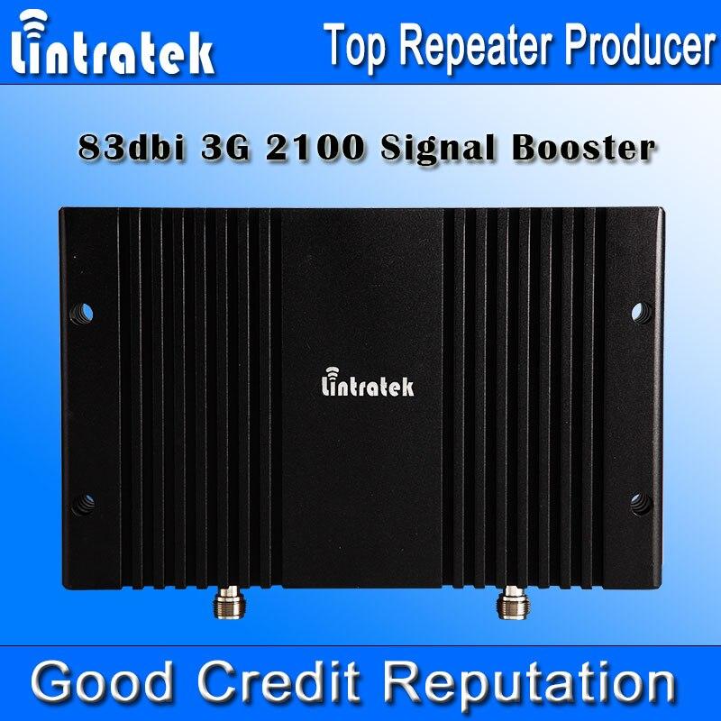 4g Telefono Cellulare Ripetitore 2100 mhz 83db 2100 mhz Ripetitore Display LCD AGC MGC 33dbm Repetidor Celular 2100 Mobile ripetitore di segnale *