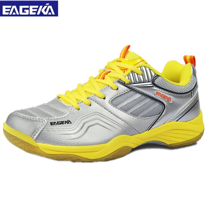 ФОТО Hot New Arrival Breathable Badminton Shoes For Men And Women Anti-Slippery Outdoor Sport Shoes Lovers Sneaker