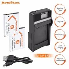 2x bateria NP-BN1 np bn1 NPBN1 battery + LCD USB charger for sony DSC WX220 WX150 DSC-W380 W390 DSC-W320 W630 camera L20