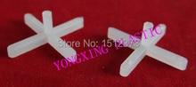 100pcs/bag 2.5mm with handle plastic cross/ tice spacer/tracker/locating/ceramic cross  white color locate the ceramic tile