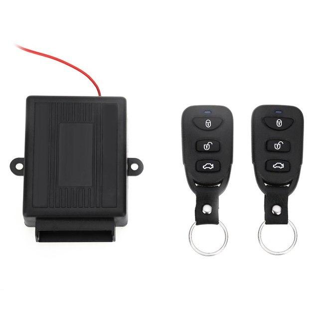 Акция! Универсальный Авто дистанционного Центральный комплект замок 433,92 мГц блокировки автомобиля без ключа разблокировки запись Системы горячая распродажа