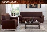 Miễn phí Vận Chuyển seller Nhất 1 BỘ Dệt Kim Sofa Covers/Slipcovers, làm bằng 95% Polyester và 5% Spandex Vải Ghế + Loveseat + Sofa