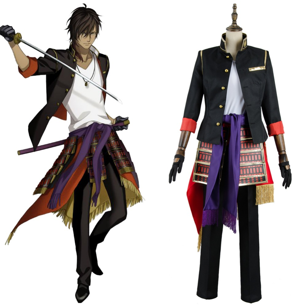 Touken Ranbu Ookurikara Cosplay Costue Adult Men Women Full Set Outfit Uniform Halloween Carnival Cosplay Costume
