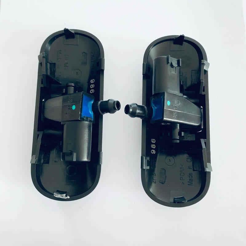 2 Buah Kaca Depan Washer Jet Nozzle Semprot Air dengan Pemanas untuk VW Passat B6 Jetta Golf MK6 GTI Caddy Audi 8 K A4 A5 Q5 S4 S5 RS4