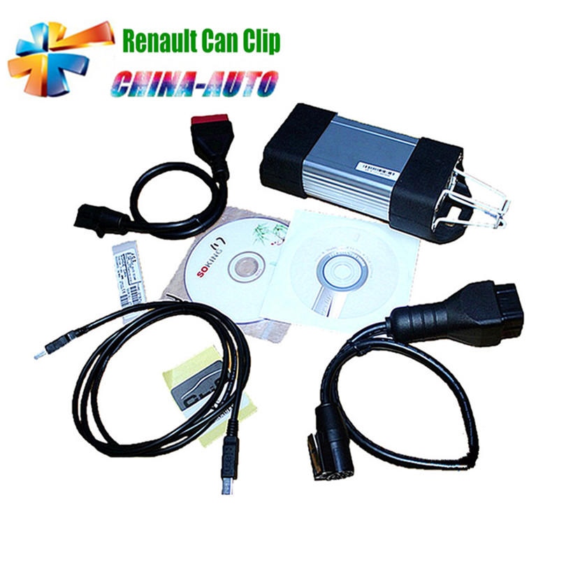 2018 Newest V168 Version Renault Can Clip Scanner Diagnostic Interface Support Multi-languages Best Quality with lowest price