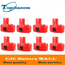 8PCS 12V PA12 2000mAh Ni CD Rechargeable Battery for Makita Replacement Power Tool Battery for Makita