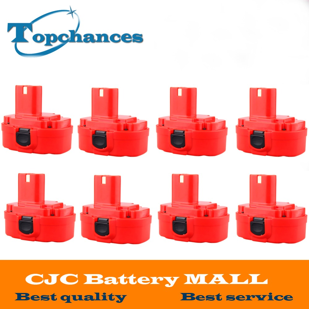 8PCS 12V PA12 2000mAh Ni CD Rechargeable Battery for Makita Replacement font b Power b font
