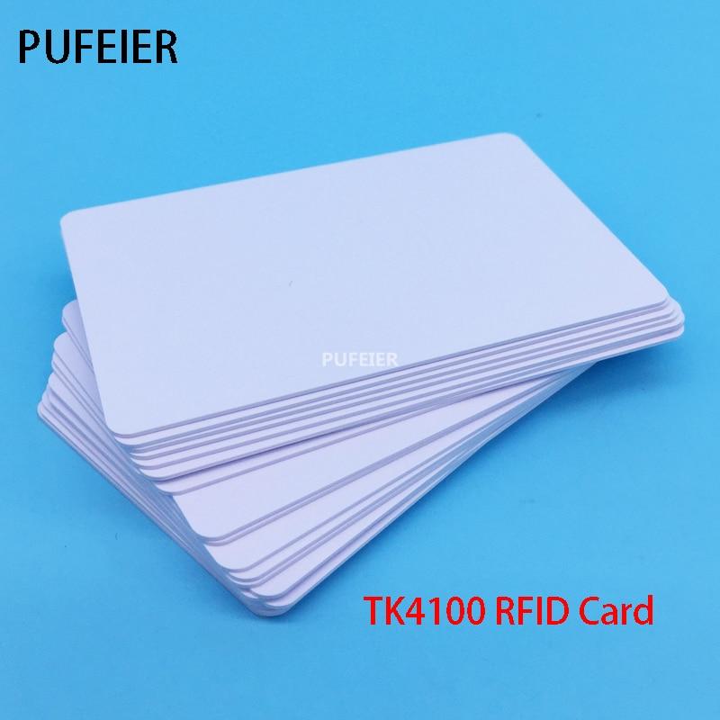 50 шт./лот rfid-карты TK4100 Чип 125 кГц ID Card совместимый для Управление доступом Посещаемость Карты