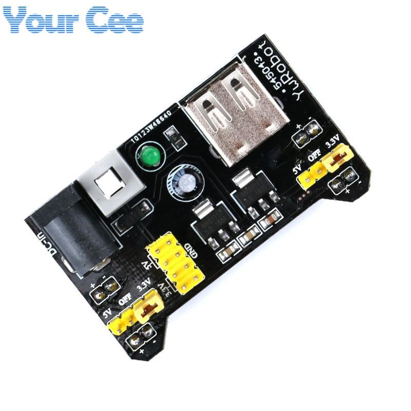 MB102 Breadboard Power Supply Module Mini USB 3.3V 5V //DC 7-12V BSG
