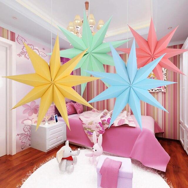 Aliexpress Com Buy 30cm Folded Paper Star Lanterns 3d Hanging