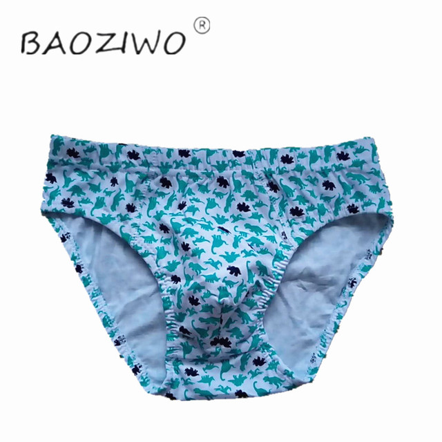 Baoziwo child panties for boys underwear cotton  in brief for teenage boys in size 110/116 134/140 1