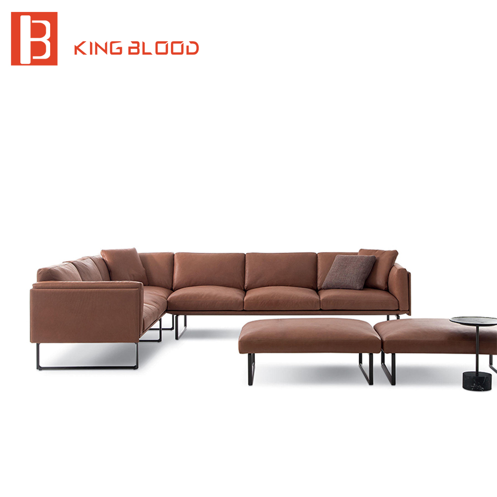 viesso pel rounded corner sectional base