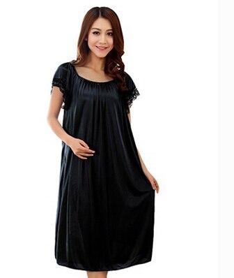 Summer sexy long silk nightgowns nightdress for women plus ...