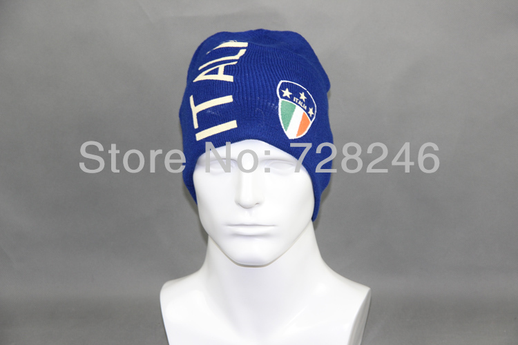 reputable site 283ba 87245 World Cup Italy National Flag Beanie Italy Team Winter Hat ...