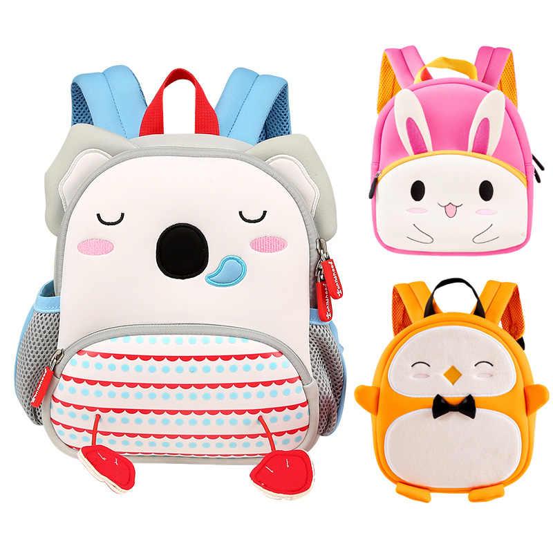 78348ebd0ec4 Модные детские животные школьные рюкзаки для детей милые коала кролик  школьный детский сад девочки школьные сумки