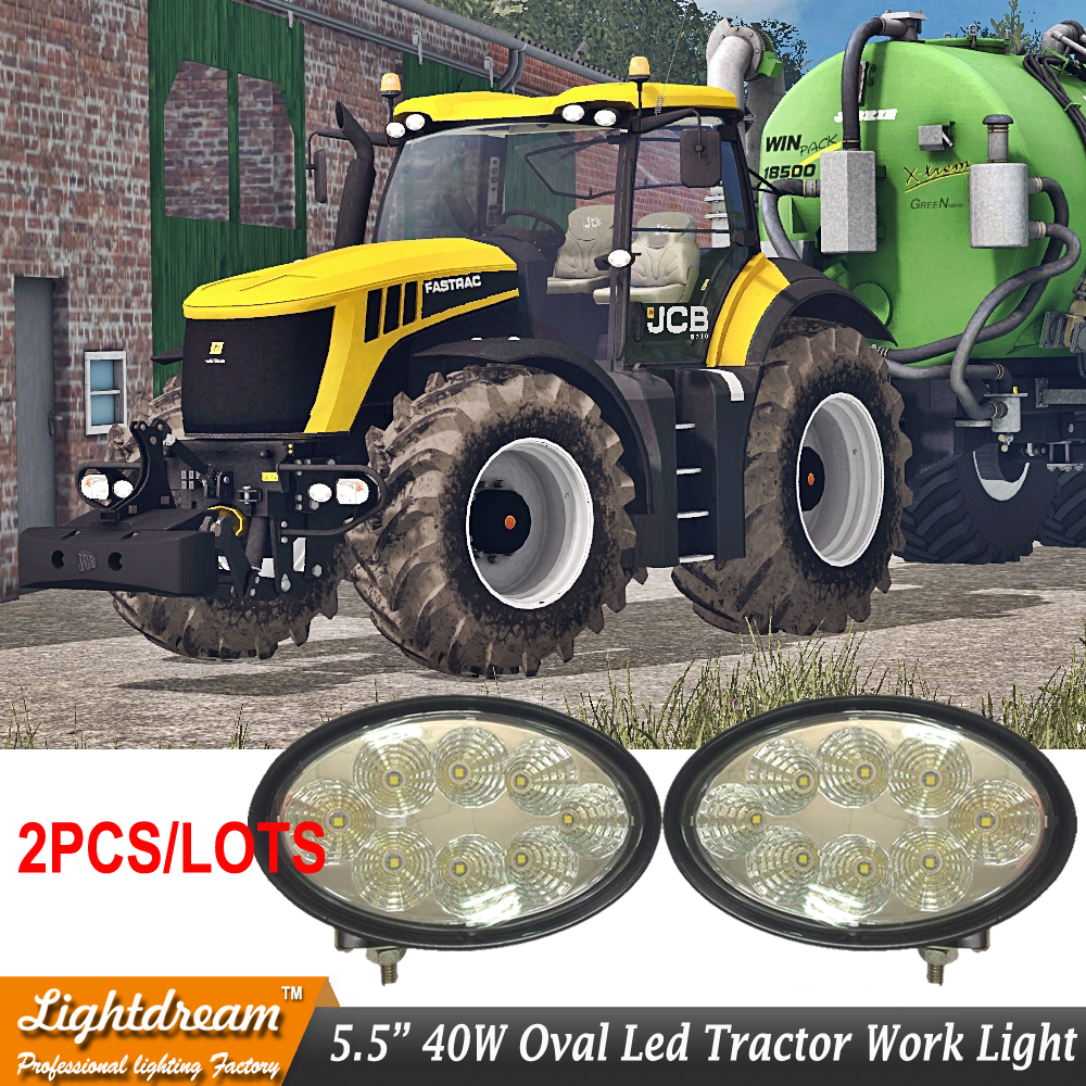 12V 24V Led agriculture work light with 360degree adjustable aluminum alloy bracket for tractor car truck 2pcs/lot Free shipping pastoralism and agriculture pennar basin india