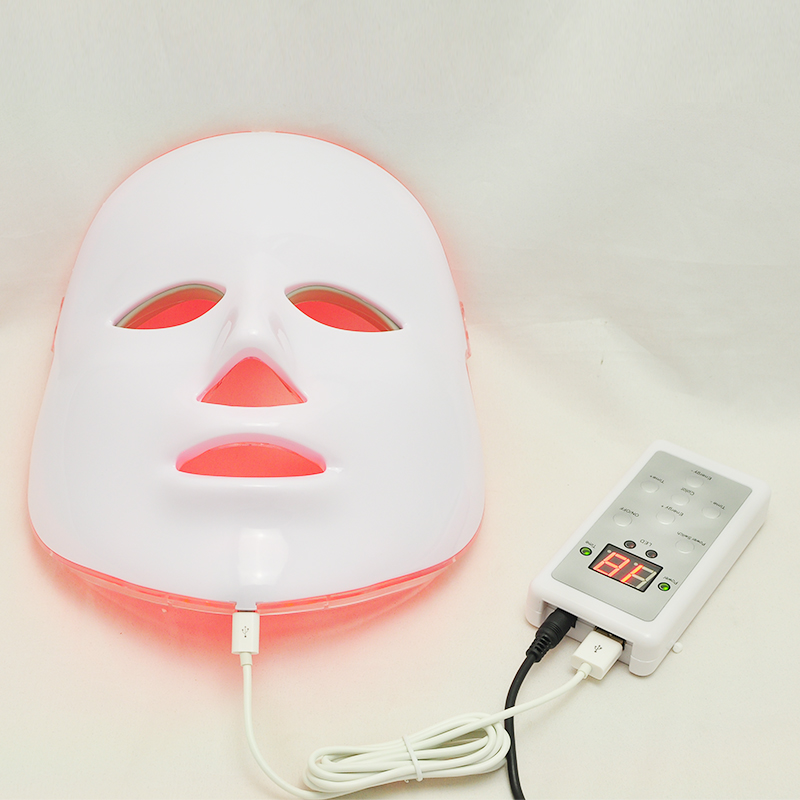 NEW Photodynamic LED Facial Mask Home Use Beauty Instrument Anti acne Skin Rejuvenation LED Photodynamic Beauty Face Mask anti acne pigment removal photon led light therapy facial beauty salon skin care treatment massager machine