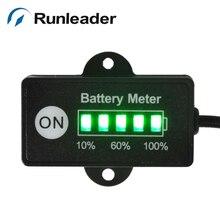 RL-BI005 12/24V Батарея измерителем влажности и температуры индикатор для автомобиля Гольф Тележки Скутер электронная игрушка мотоцикл вилочного погрузчика газонокосилка