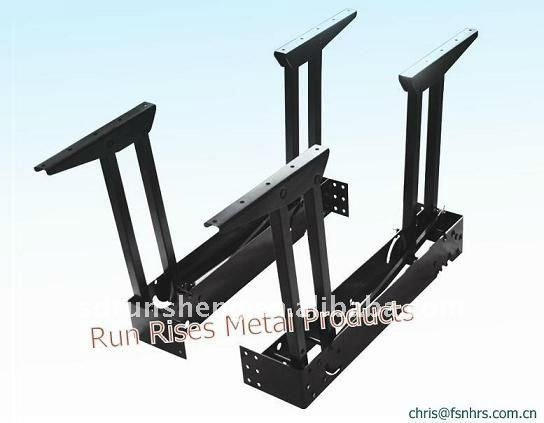 New folding and extendable dining table parts-in Cabinet