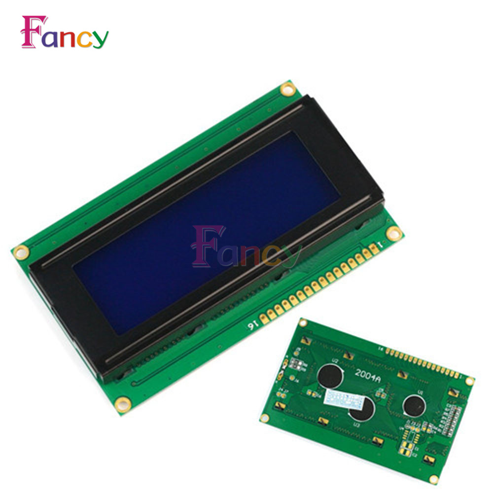 2004 204 20x4 Character LCD Display Module HD44780 Controller Yellow Blue Blacklight For Arduino