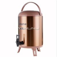 Stainless Steel Insulation Barrel 12L Commercial Insulation Container Hot Water/Soybean Milk/Milk Tea Insulation Bucket LHH720