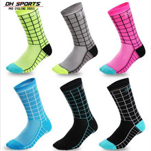 Cycling Socks (3 Pairs/lot) DH SPORTS/DH011 Nylon Men Sports Socks Basketball Outdoor Hiking Socks 2 pairs men s breathable outdoor socks hiking sports socks climbing socks s015