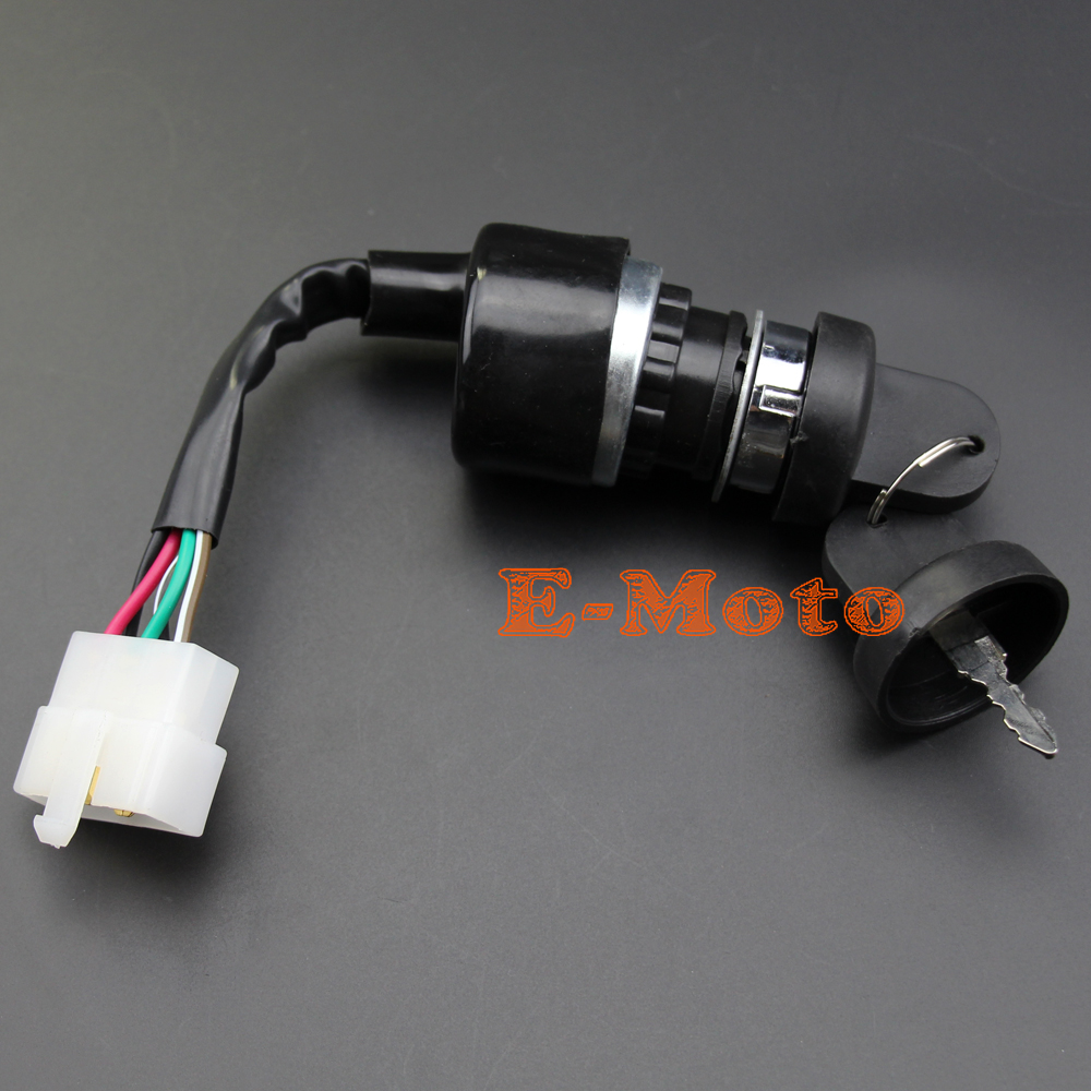Ignition Switch Key Utv Go Kart Atv 5 Pin Wire Chinese 50 110 6 Wiring Diagram 125 150 250cc Sunl In Motorbike Ingition From Automobiles Motorcycles On