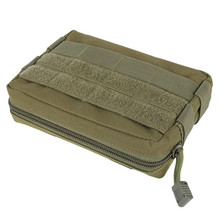 Liten Army Utility Field Sundries Påse EDC Påse Military Belt Påse Tactical Pocket Organizer Hunting Pack Tool Bag