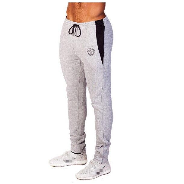 Gym Shark Pants Mens Tracksuit Sports Bottoms Cotton Fitness Skinny Joggers  Sweat Pants Pantalones Chandal Hombre fd5fa50637a8